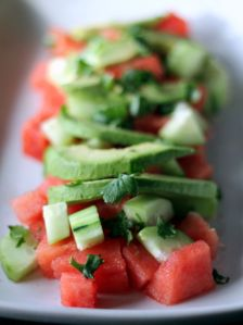 avo-cucumber-watermelon-salad