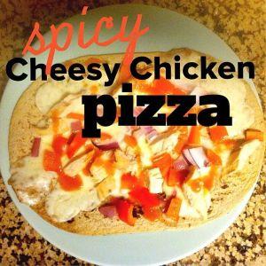 spicy-cheesy-chicken-pizza