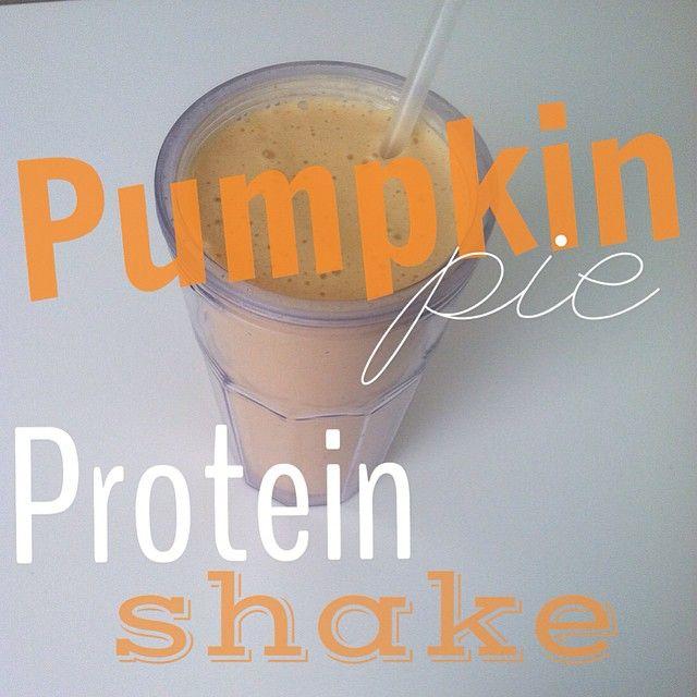 pumpkin-pie protein shake