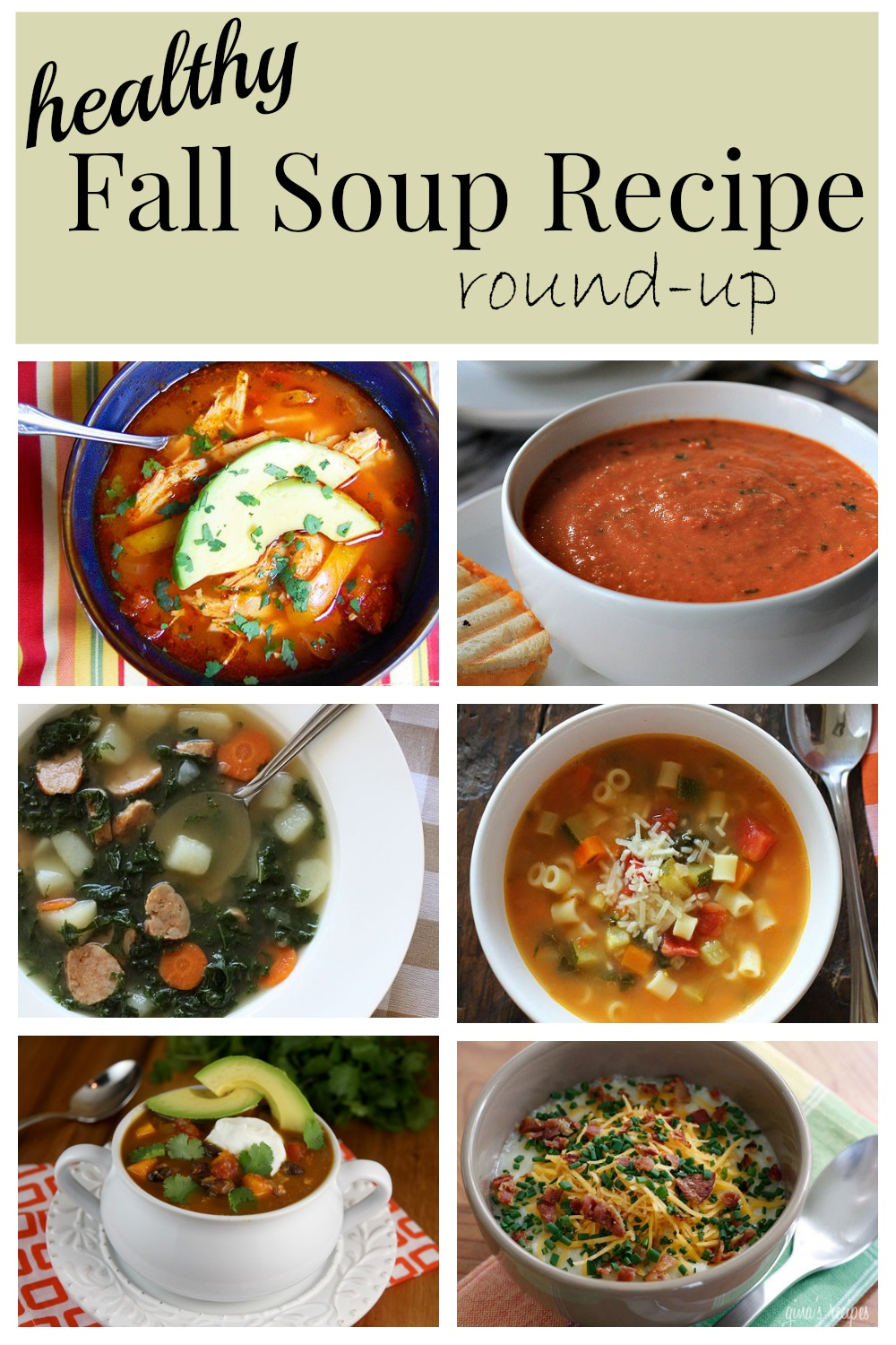 Fall Soup Round Up 6 Delish Healthy Recipes For The Crock Pot A