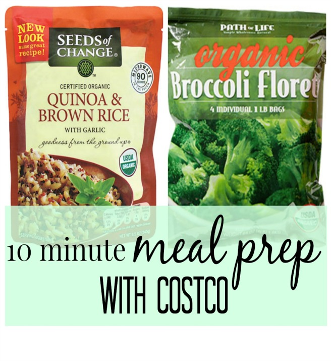 Meal Prep with Costco